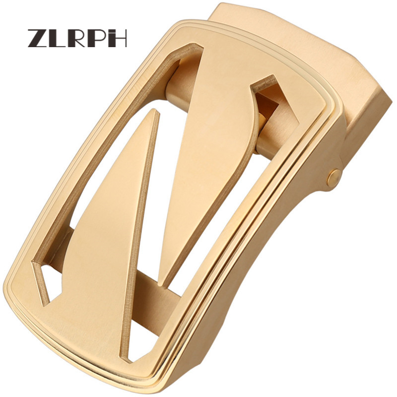 ZLRPH Stainless Steel Automatic Belt Buckle High-end Atmospheric Popular Business Trend Wholesale