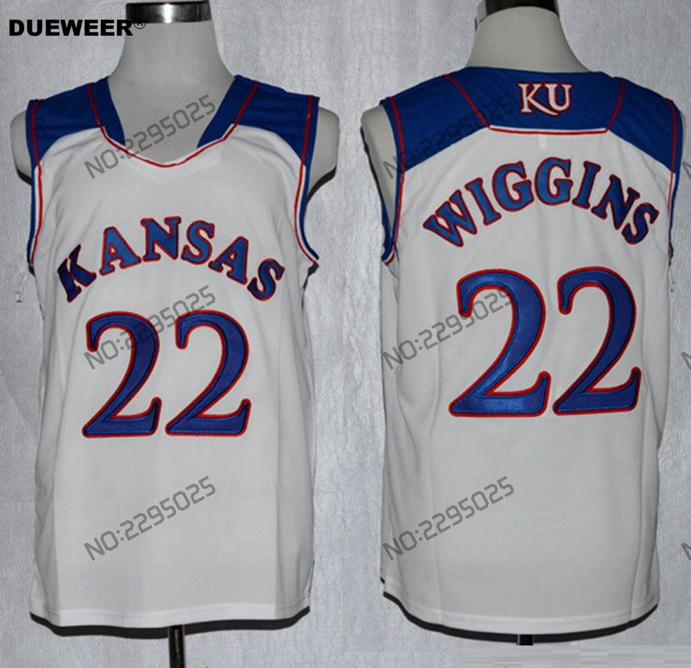 new style a62d3 51f9e low price andrew wiggins ku jersey 77d72 d647e