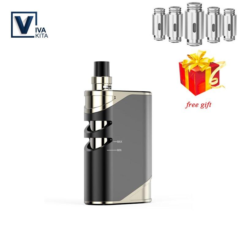 Vape Kit 50W Vaporizer 2100/1500mah VivaKita Fusion Kit Electronic Cigarette Vape Mod 0.25ohm Built In Evaporator Dropshipping