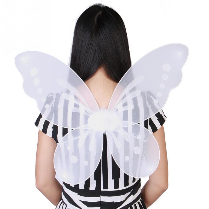 Compra alas de hadas para decorar online al por mayor de for Ornamentacion para navidad