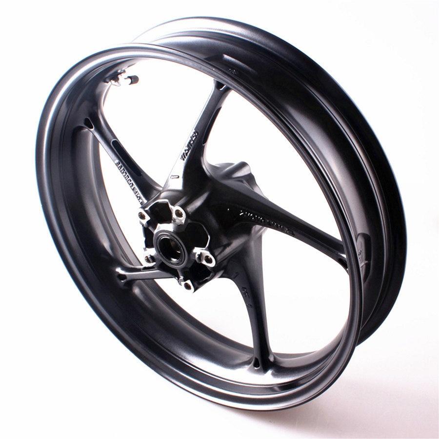 Aluminum Front Wheel Rim For Triumph Daytona 675R Street Triple R 2013 UP Motorcycle Accessories Black