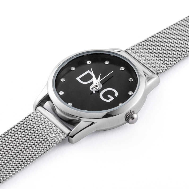 Reloj Mujer New Famous Brand Casual Quartz Watch Women Kobiet Zegarka Metal Mesh Stainless Crystal Dress Ladies Watches Relogio