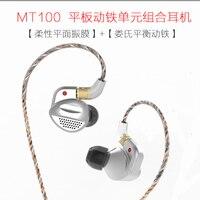 Senfer MT100 Съемная orthodynamic наушники DJ HIFI наушники мониторного IEM с MMCX кабель ушной крючок K3003 SE846 IE800S XBA Z5