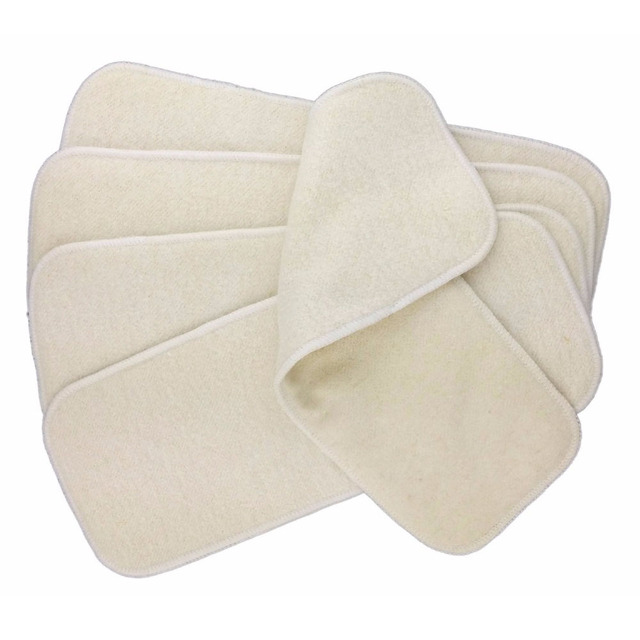100% organic hemp cotton insert 4 layers cloth diaper nappy liners reusable baby diapers hemp insert baby diaper soaker pad For All (0-3 years) Nursery Shop by Age Washable Diapers