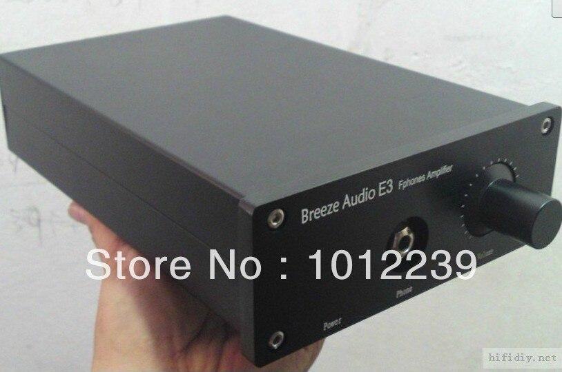 Nueva aluminio amplificador chasis/home audio amplificador de potencia tamaño de