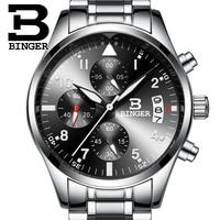 Новые спортивные мужские кварцевые аналоговые часы Hardlex  повседневные крутые Брендовые мужские часы 2015  наручные часы с хронографом  сталь ...