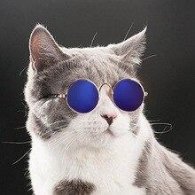1 шт. милые кошачьи очки, собачьи очки, товары для домашних животных для маленьких собак, кошачий глаз, солнцезащитные очки для собак, фото, аксессуары для домашних животных