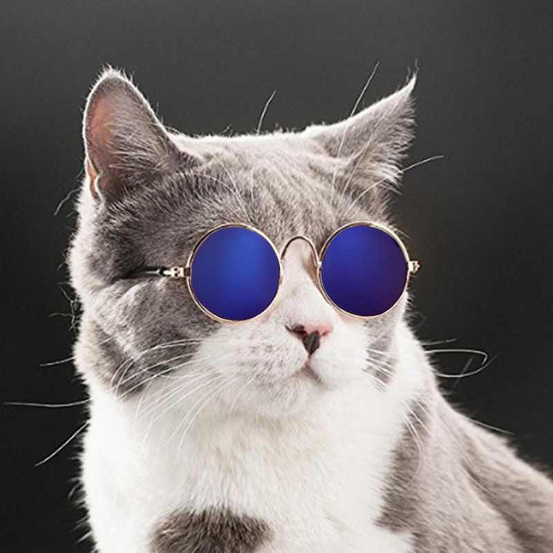 1pc Lovely Pet Cat Glasses Dog Glasses Pet Products For Little Dog Cat Eye-wear Dog Sunglasses Photos Pet Accessories