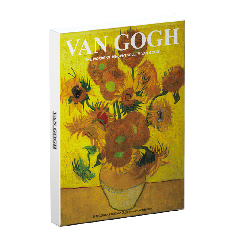 30 Sheets/pack Van Gogh Paintings Postcard Vintage Flower Design Paper Card For Greeting Wish Birthday Gifts Stationery Supplies