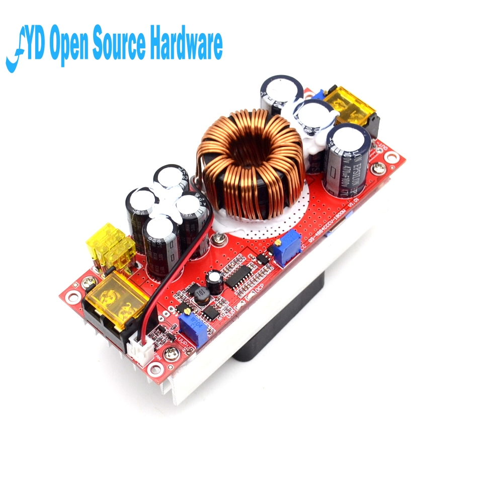 1pcs 1500W 30A DC DC high current DC constant current power supply module of electric booster Module Board