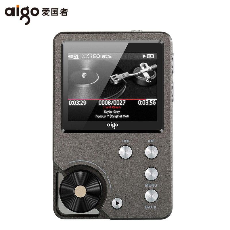 AIGO MP3-105 HIFI Lecteur Loseless Portable MP3 Mini avec Salut-res Flac TFT Écran WM8965 Mini Portable DSD Sport EQ réglable