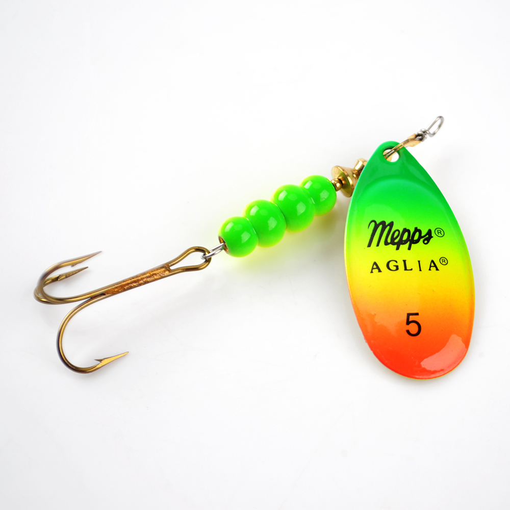 1PC Size0-Size5 Fishing Lure Hook Mepps Spinner Spoon Lures With Mustad Treble Hooks Peche Jig Anzuelos De Pesca