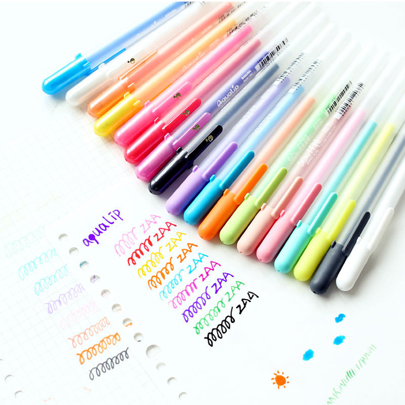JIANWU 1pc Japan sakura Jelly stereo Painting pen DIY marker pen cute Watercolor pen kawaii 2017 1pc japan