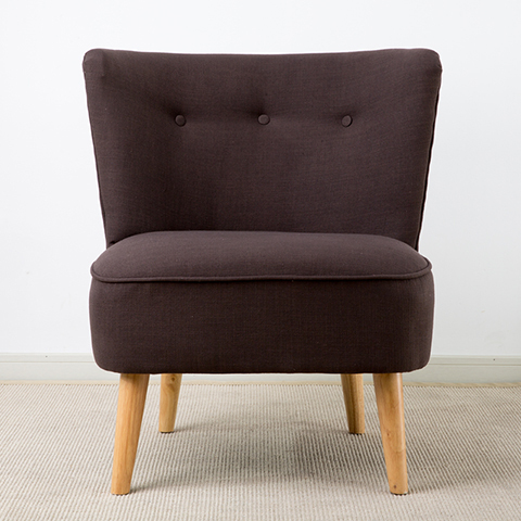 New Nordic Fabric Armchair fashion minimalist living room ...