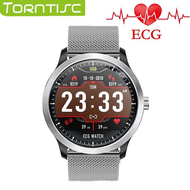 2019 Torntisc Smart Watch Men Women ECG PPG IP67 Waterproof Heart Rate Monitor Blood Pressure SmartWatch For The Aged