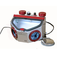 Dental lab equipment Fine Blasting Unit Micro Dental Sandblaster with two Tanks