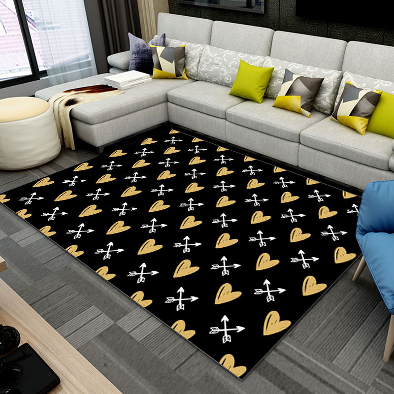 Carpet Living Room Simple Modern Sofas Coffee Pillow Bed