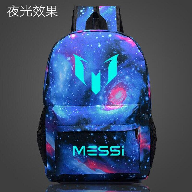 851fccd52 Mochila De Fútbol con Logo Messi para hombres, bolsa de viaje para chicos,  bolsa de viaje para adolescentes, regalo Escolar, Mochila Escolar para  niños, ...