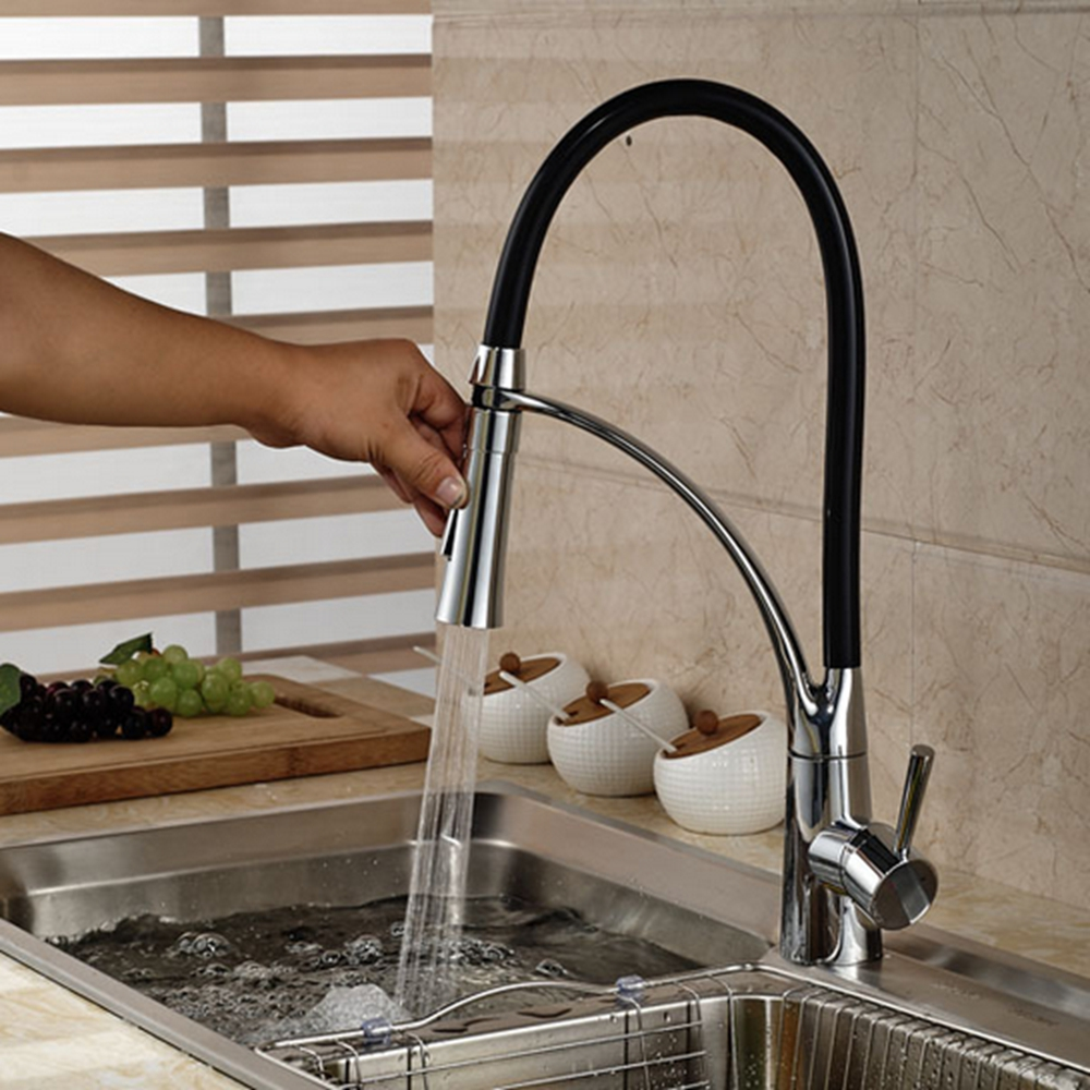 ФОТО Deck Mount Oil Rubbed Bronze Kitchen Sink Sanitary Faucet Single Handle Hole Mixer Tap NEW