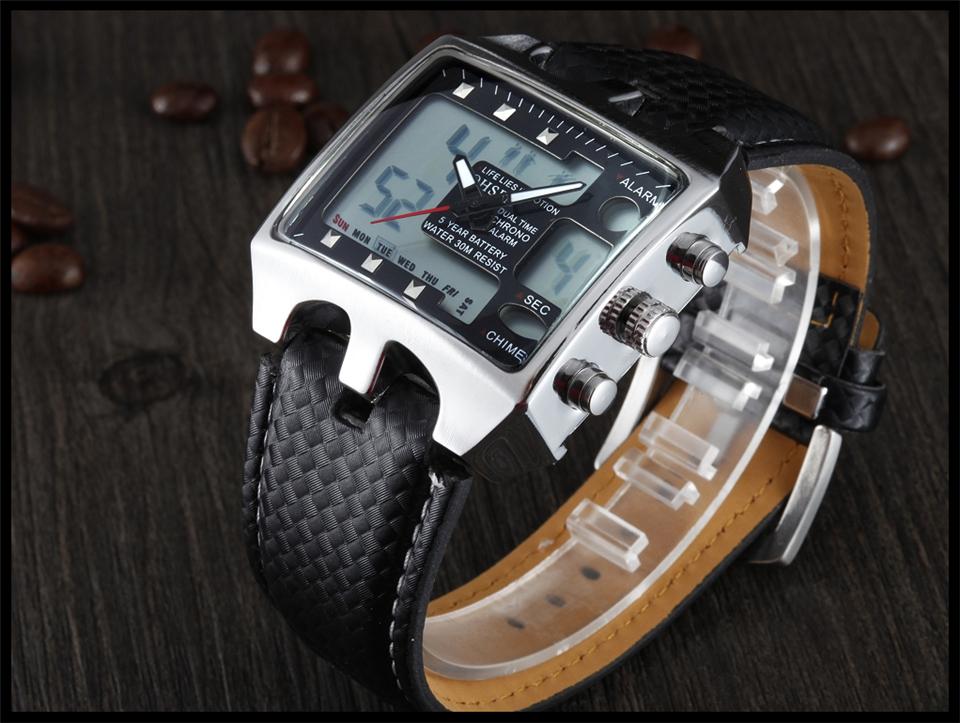 Hot Fashion OHSEN Brand Men Sports Watches Analog Casual Quartz 3ATM Waterproof Sport Military Watch Men Relogio Male Clock Gift (21)