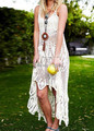 Лето Dress Плюс Размер Сексуальные Выдалбливают Пляж Женщины Dress Спагетти Ремень Vestidos Макси Длинные Женские Платья Вскользь Летние Платья