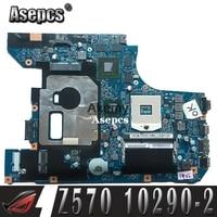 10290 2 LZ57 MB original motherboard for Lenovo Z570 Laptop motherboard Z570 motherboard GT540M/GT525M Test