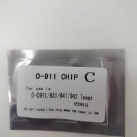 38K Cartridge toner chip Compatible for OKI C911 C931 C941 printer 45536505 45536505 45536507 45536508