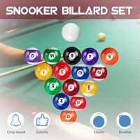 52.5MM / 57MM US Style Billiards Set Polyester Resin Balls Full Set Billiard Balls Snooker & Billiard Accessories