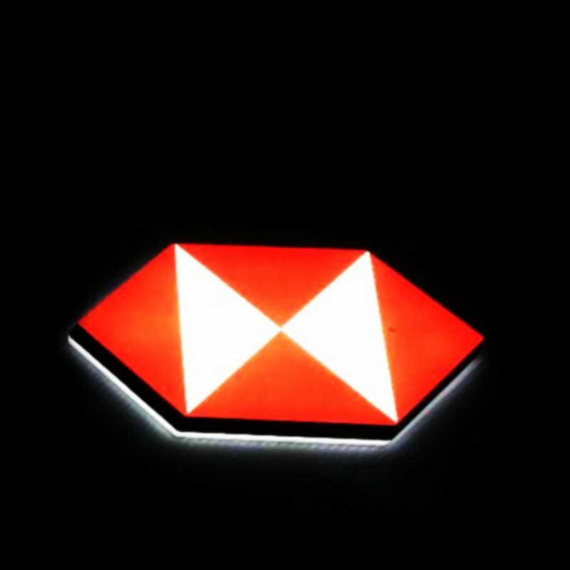 Открытый 3D со светодиодной подсветкой имя Совет буквы