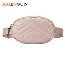 a166760f02c9c حقيبة الخصر فاني حزمة الخصر حزام حقيبة فاخرة ماركة جلد الصدر حقيبة الوردي  أحمر أسود أزرق