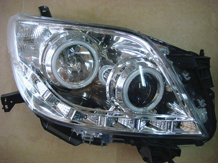 eOsuns headlight assembly for toyota prado lc150 GRJ150 TRJ150 2700 4000 2009-2013, 2pcs