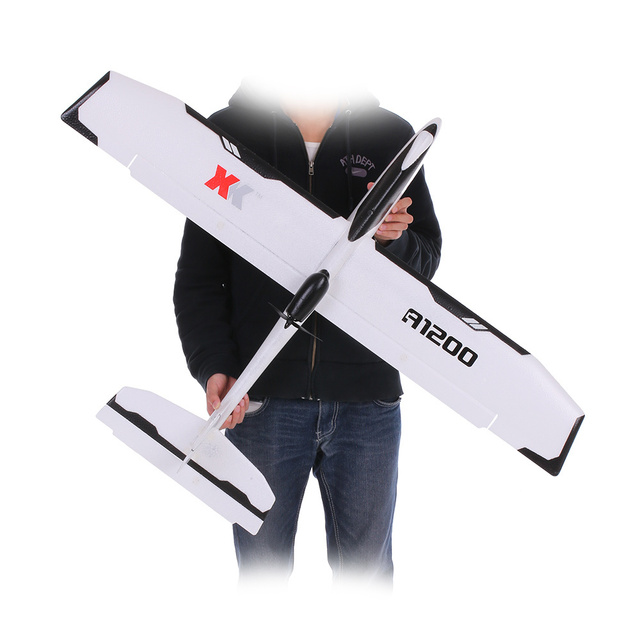 WLtoys XK A1200 3D 6G Brushless Motor Fixed-wing Airplane 5.8G FPV 2.4G 6CH S-FHSS EPO RC Airplane Glider RTF 89CM Length Drone 5