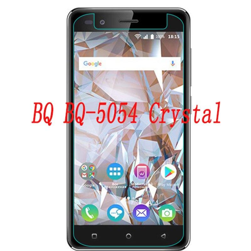 Закаленное стекло для смартфона для BQ BQ-5054 Crystal 5054 9H Взрывозащищенная защитная пленка для экрана телефона