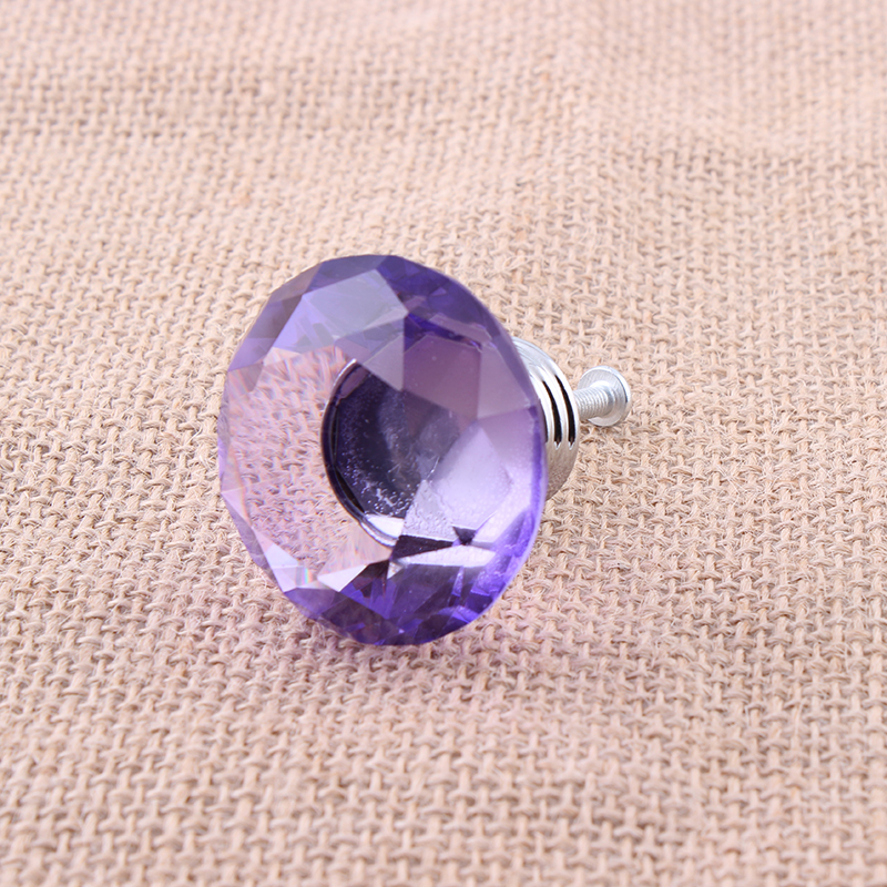 Bon 40mm 40mm Purple Cabinet Knobs And Crystal Handles Door Handle Pull For  Cabinets Kitchen Furniture Cupboard Drawer SJ 1010 In Cabinet Pulls From  Home ...
