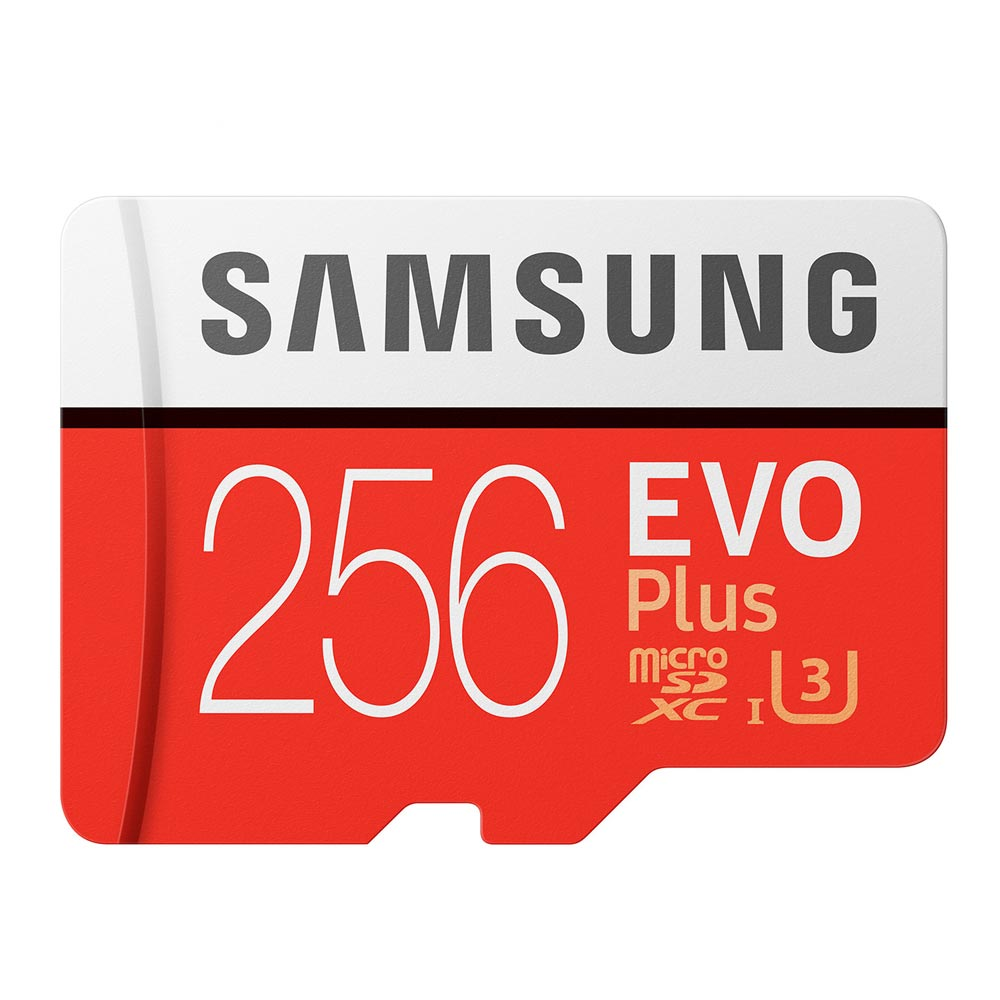 Carte mémoire originale Samsung 256 gb micro sd EVO Plus U3 classe 10 SDXC haute Performance carte TF microsd 32 GB carte gratuite pour cadeau
