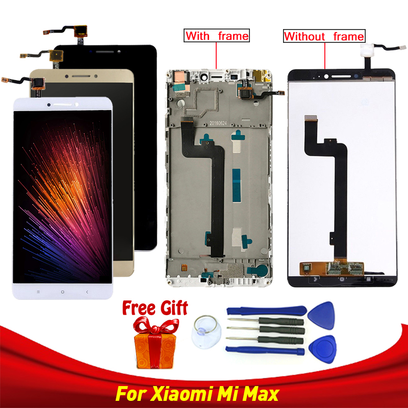 LCD Display For Xiaomi Mi Max LCD Touch Screen Digitizer for Xiaomi MI Max Display Screen Replacement