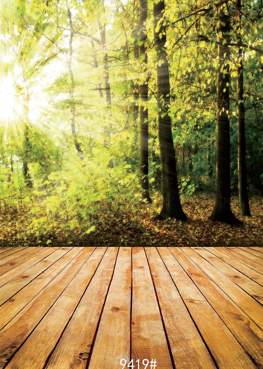 Forest natural wood photography backdrops Children photo background photography-studio-backdrop fond studio vinyle9419