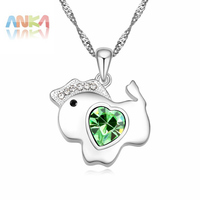 2015 Chinese Zodiac Crystal Horse Necklace Made With Swarovski Elements 106685