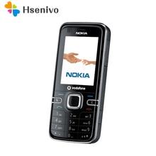 6124 100% D'origine Nokia 6124 classique d'origine téléphone débloqué 6124C quad bande FM Radio GSM Symbian téléphone portable Livraison gratuite