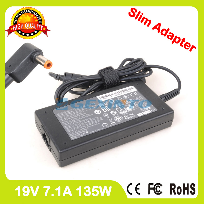 Mince 19 V 7.1A laptop ac power adapter chargeur pour Acer Aspire V15 Nitro VN7-591 VN7-591G V17 Nitro VN7-791 VN7-791G PA-1131-05