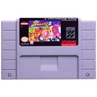 Game Cartridge Console Card Super Bomberman series English Language USA Version