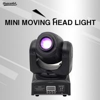 mini 10w moving head light led moving head prism rotating disco lamp gobo light