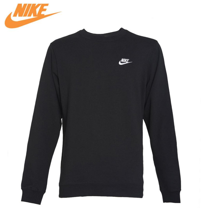цены Nike Original New Arrival Official NSW CRW CLUB Men's Breathable Pullover Jerseys Sportswear 804343-010