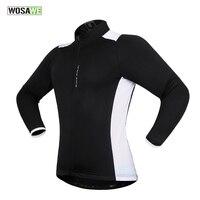 WOSAWE Men Women Cycling Jersey MTB Green Bicycle Clothing Long Sleeve Bike Jersey Spring Summer Outdoors