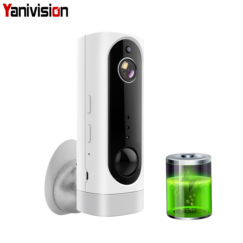 Battery WiFi Camera Rechargeable Battery Powered 720P 1080P Full HD Indoor Wireless Security IP Cam 130