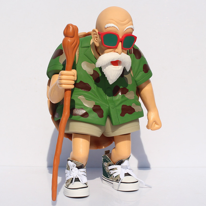 Anime Figure Dragon Ball Z Figurines Master Roshi PVC Action Figure Collection Model Doll Toys Dragonball free shipping anime dragon ball master roshi pvc action figure collection model toy 25cm orange new loose