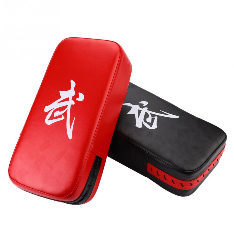100% Quality Durable Punching Bag Boxing Pad Sand Bag Fitness Taekwondo Kicking Punching Pad Pu Leather Training Gear Muay Thai Foot Target 2019 New Fashion Style Online