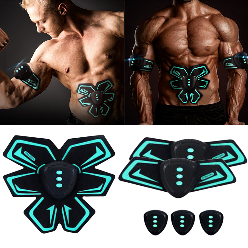 Abdominal Muscle Training Stimulator Gear Body Slimming Abs Fit Toning Belt Smart Wireless Exercise Trainer Portable Home