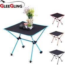 цена на GLEEGLING FLC04 HOT High Quality Ultra-Light Chair Folding Outdoor Hiking Camping Chair Portable Fishing Foldable Seat