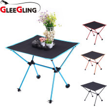 GLEEGLING FLC04 HOT High Quality Ultra-Light Chair Folding Outdoor Hiking Camping Chair Portable Fishing Foldable Seat(China)